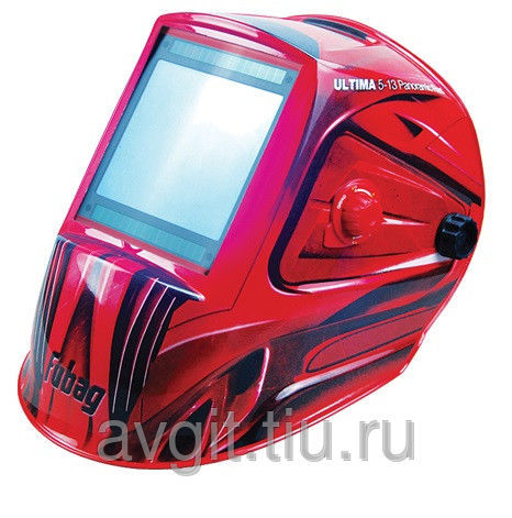 Маска сварщика FUBAG ULTIMA 5-13 Panoramic RED